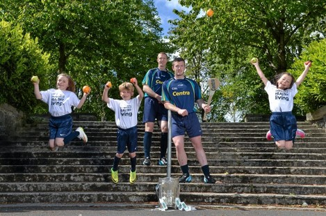 Centra Champions healthy living through GAA partnership