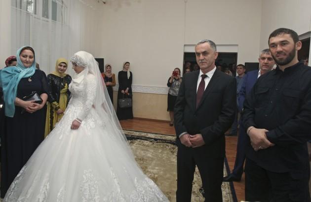 Kheda Goilabiyeva, Nazhud Guchigov, Magomed Daudov