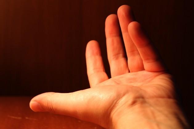 A Hand to Shake