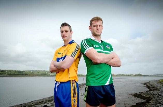 David Tubridy (Clare) and Darragh Treacy (Limerick)
