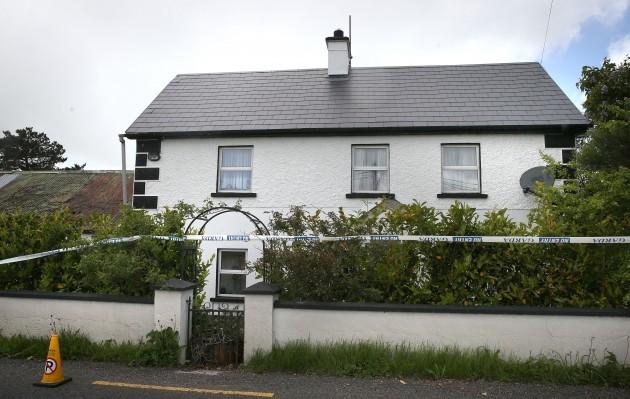 Couple found dead in farmhouse