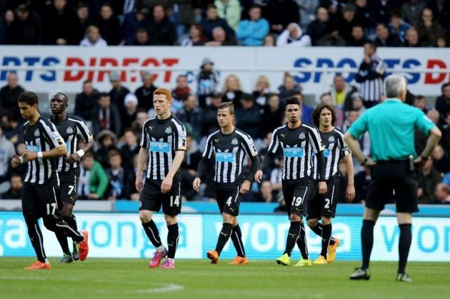 Soccer - Barclays Premier League - Newcastle United v West Bromwich Albion - St James' Park