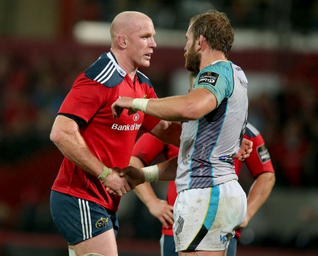 Paul O'Connell and Alun Wyn Jones