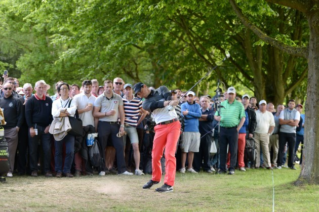 Golf - 2015 BMW PGA Championship - Day Two - Wentworth Golf Club