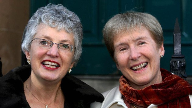 Lesbian couple begin an action so that their Canadian-registered marriage is recognised in Ireland
