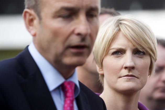 File Photo Averil Power Resigns from Fianna Fail.