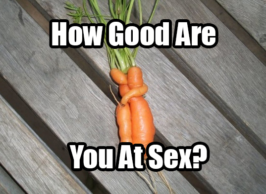 How good at sex are you