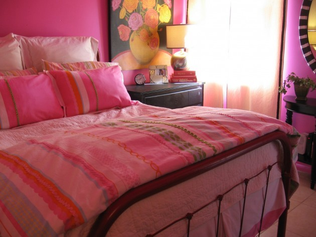 After-Pink Bedroom