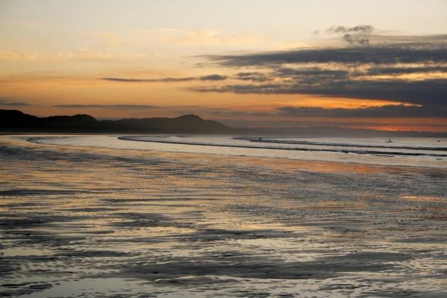 Stunning Sunset from Enniscrone Beach Sligo