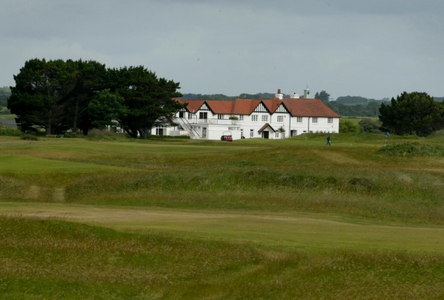 The clubhouse at Portmarnock Golf Club