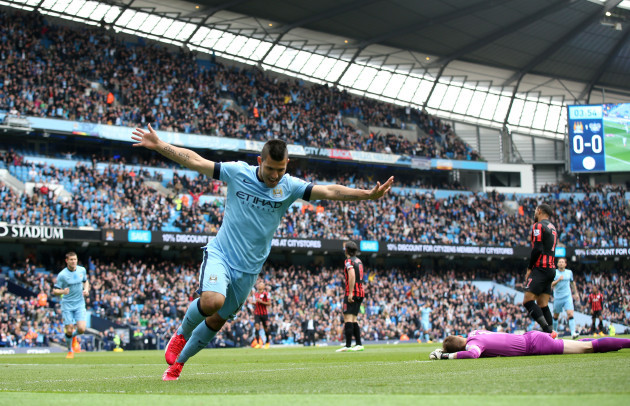 Soccer - Sergio Aguero Filer