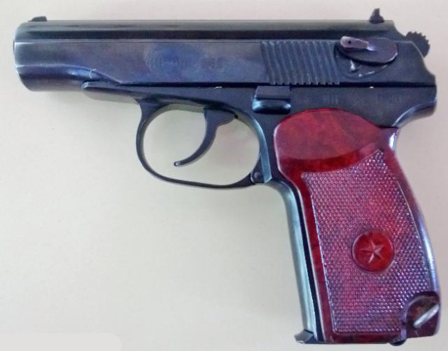 davison murder - makarov type handgun