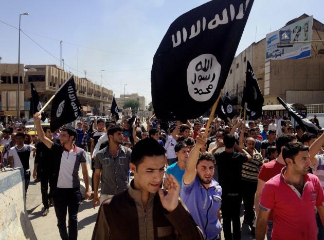 Mideast Al-Qaida vs Islamic State