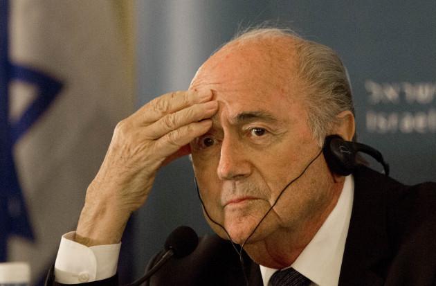 Mideast Israel Palestinians FIFA