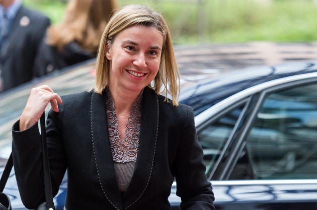 Belgium EU Defense Ministers