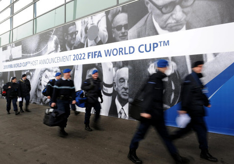 Soccer - FIFA World Cup 2018/2022 Announcement File Photo