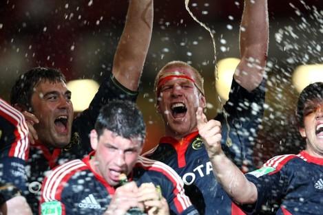 Paul O'Connell celebrates 24/5/2008