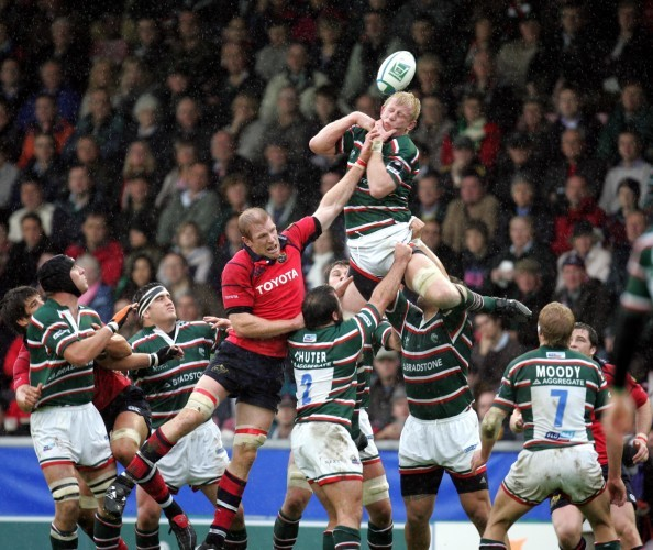 Paul O'Connell with Leo Cullen 22/10/2006