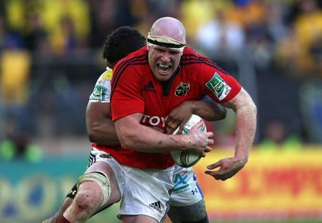 Paul O'Connell tackled