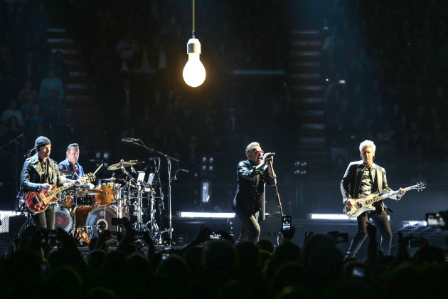 U2 In Concert - Los Angeles