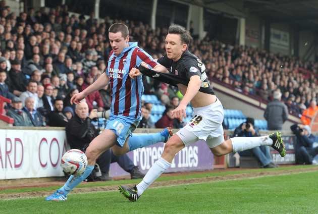 Soccer - Sky Bet League Two - Scunthorpe United v Northampton Town - Glanford Park