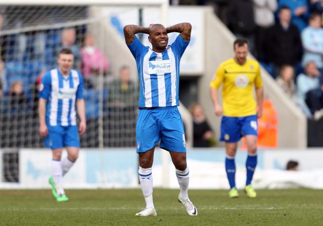 Soccer - Sky Bet League One - Colchester United v Coventry City - Weston Homes Community Stadium
