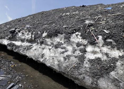 ODD--Dirty Snow Piles