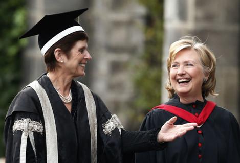 St Andrews University degree ceremony