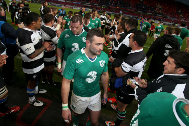 Dave Kearney after the game