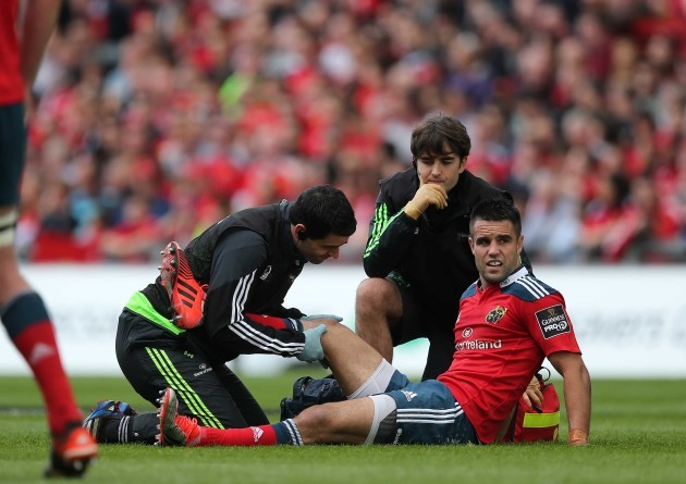 Conor Murray injured