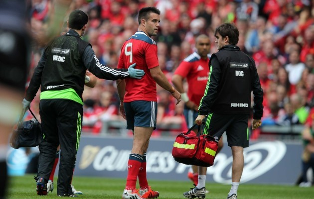 Conor Murray goes off injured