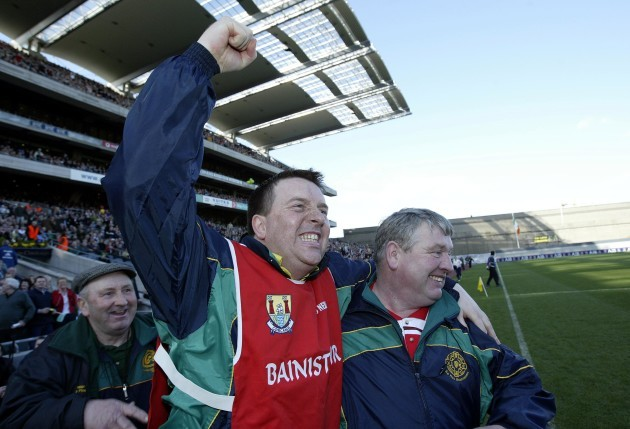 Ger Cunningham and Patsy Morrissey 17/3/2004