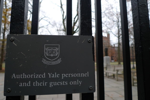 Yale Gate 1