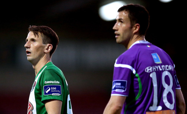 Liam Miller and Keith Fahey