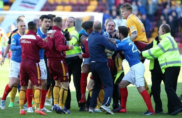 Soccer - Scottish Premiership -Play-Off - Final - Second Leg - Motherwell v Rangers - Fir Park