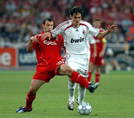 Soccer - UEFA Champions League - Final - AC Milan v Liverpool - Olympic Stadium