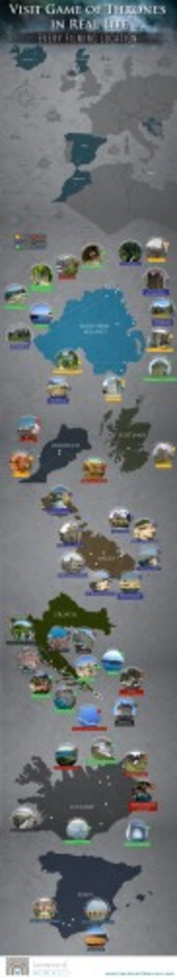 image of game of throne locations