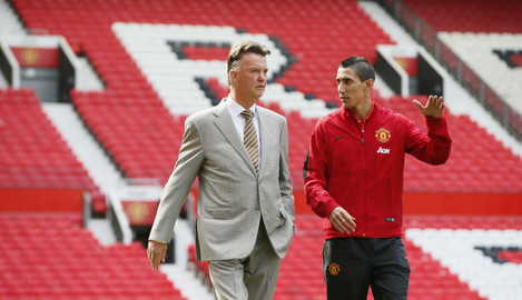 Britain Soccer Manchester United Angel Di Maria