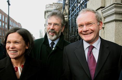 Sinn Fein delegation meet Taoiseach