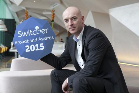 Switcher Broadband Awards 2015 launch photocall. Pic Iain White