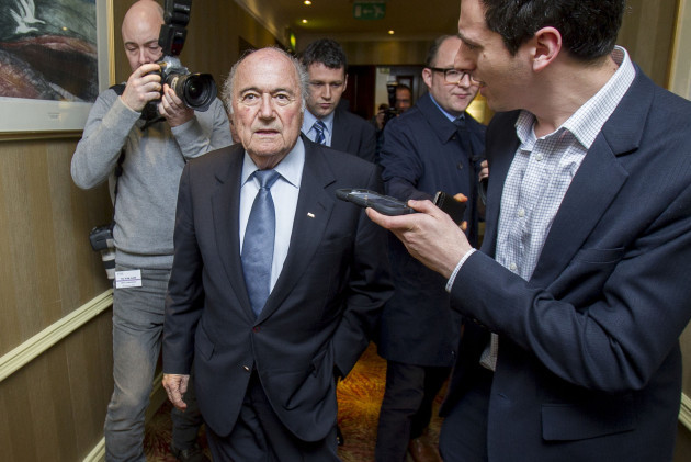 Soccer - Sepp Blatter Filer