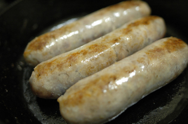 $5 Dinners: Sausages Frying