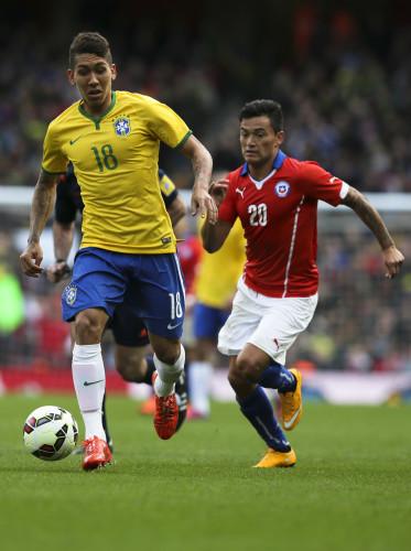Britain Brazil Chile Soccer