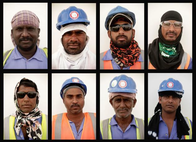 Mideast Qatar Labor