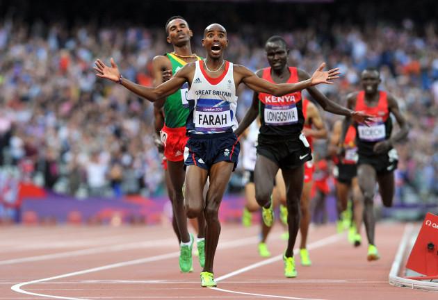 Olympic athletics bbc schedule