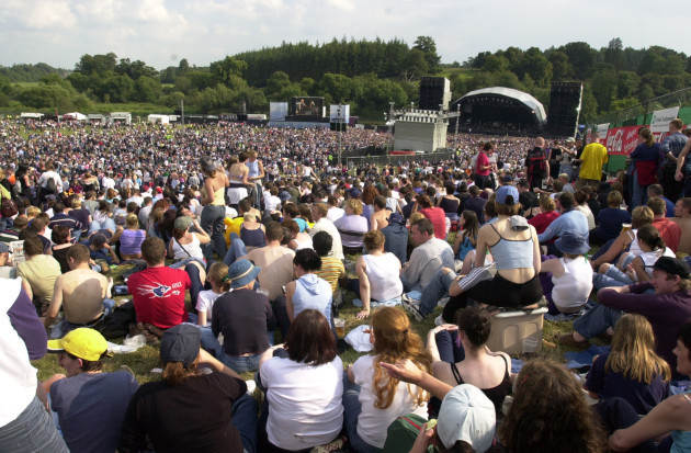 Slane Castle Rock Music Festivals