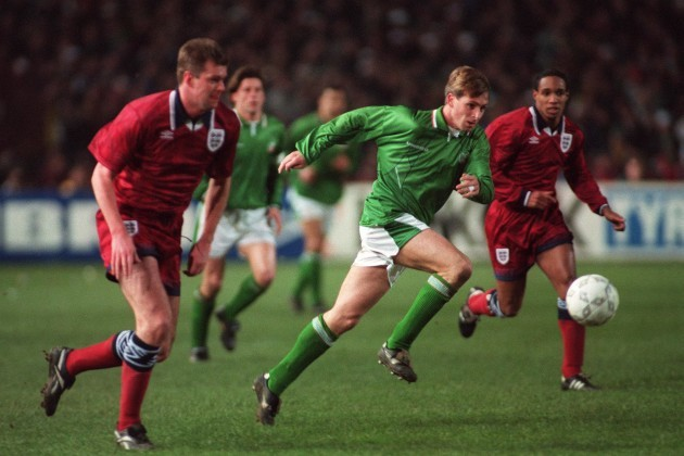 David Kelly Republic of Ireland v England 15/2/1995