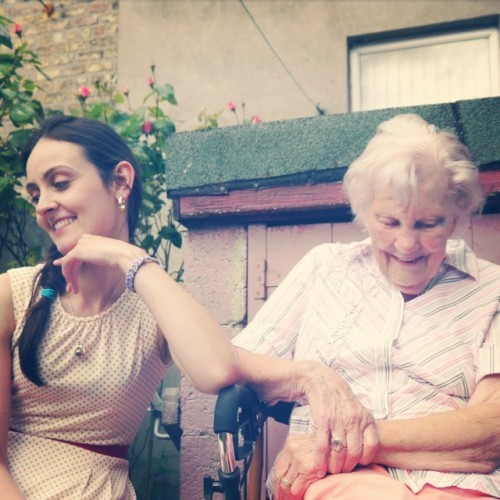 Just got off the phone to Bridie the birthday babe! Sure I'll have to live until I'm 200 so I can keep my prayers going for you. Ahaha! Happy birthday to the most incredible human I know, 96 today. You are amazing!