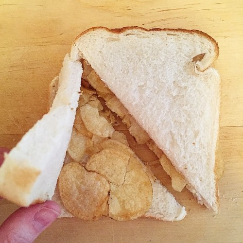 The most Irish thing you can eat: a crisp sandwich
