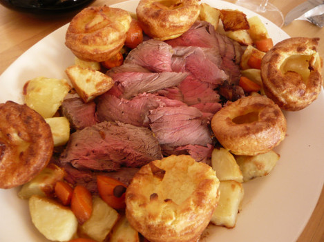 365.121: Sunday roast